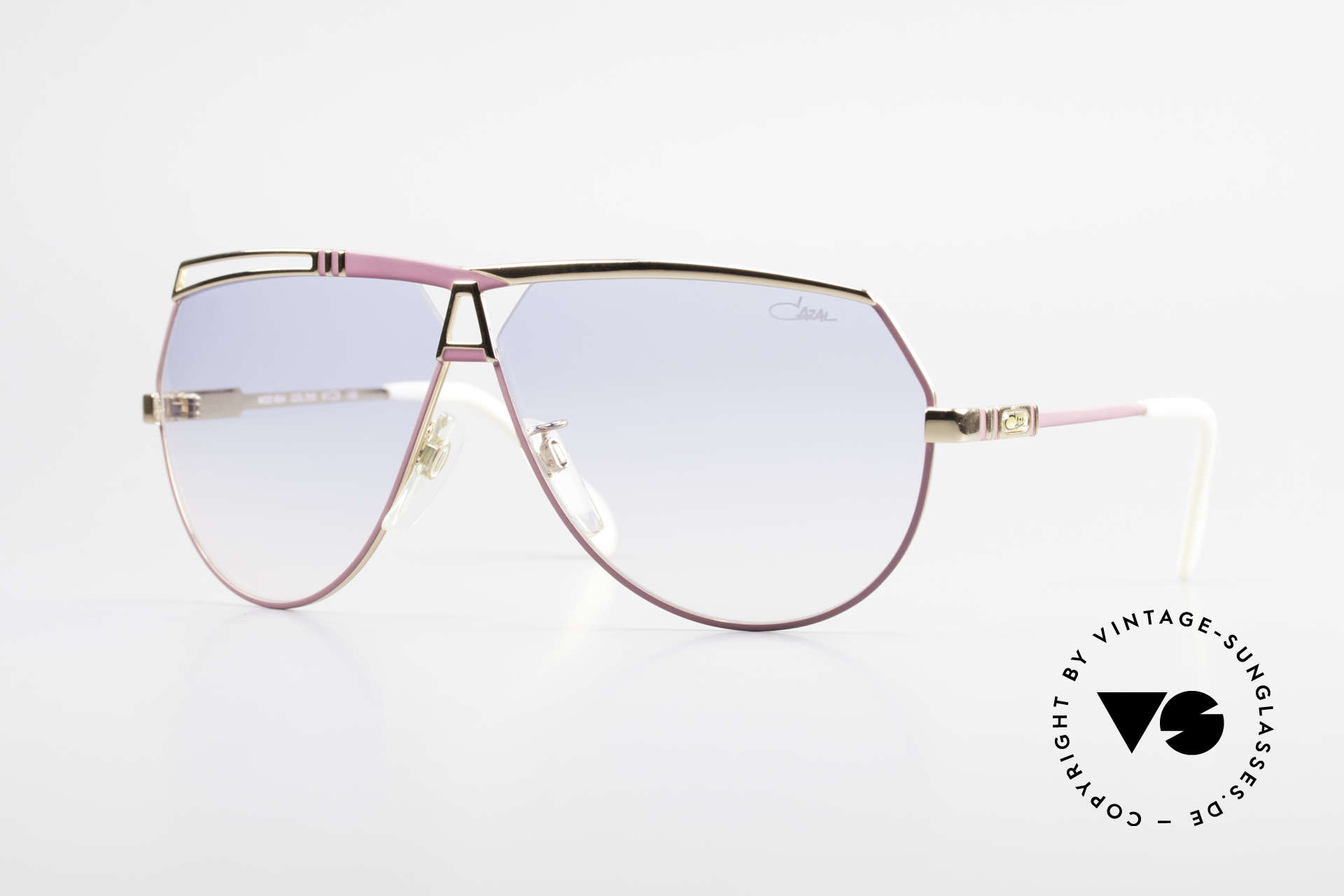 Cazal 954 Oversized 80's Sunglasses, extraordinary vintage Cazal designer sunglasses, Made for Women