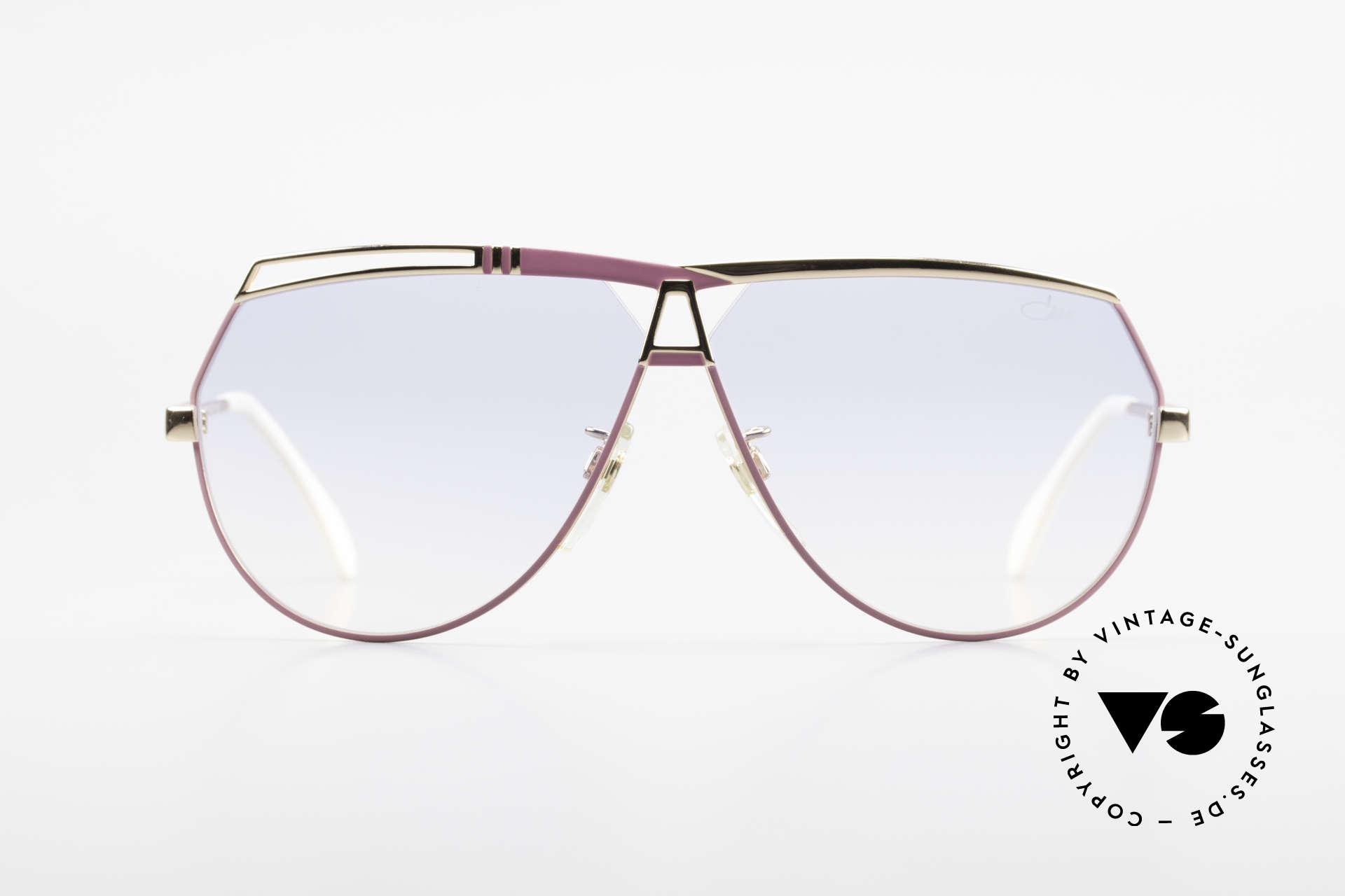 Cazal 954 Oversized 80's Sunglasses, handmade from 1989 - 1992 in Passau, Bavaria, Made for Women