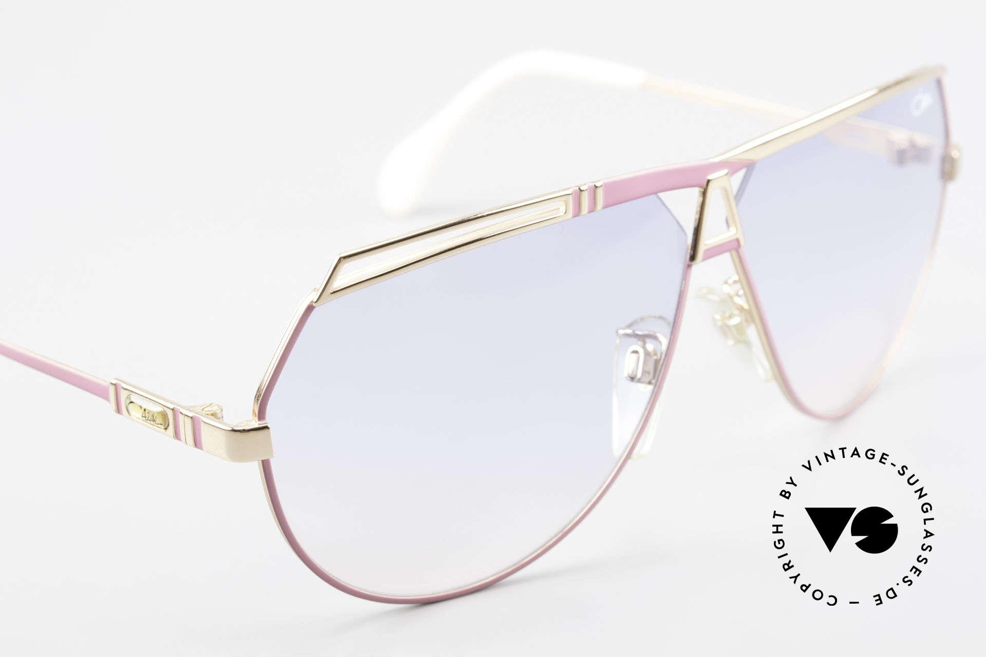 Cazal 954 Oversized 80's Sunglasses, NO RETRO sunglasses, but an old CAZAL original, Made for Women