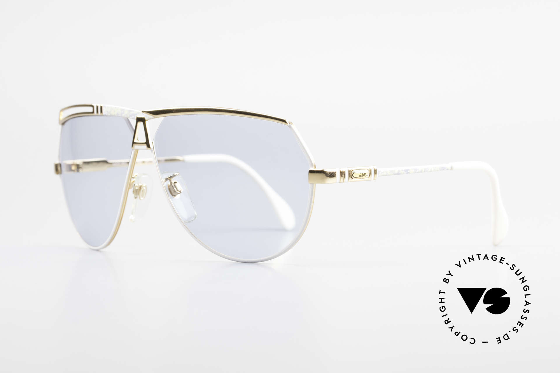 Cazal 954 True Vintage XL Sunglasses, aviator design with huge lenses & great coloring, Made for Men