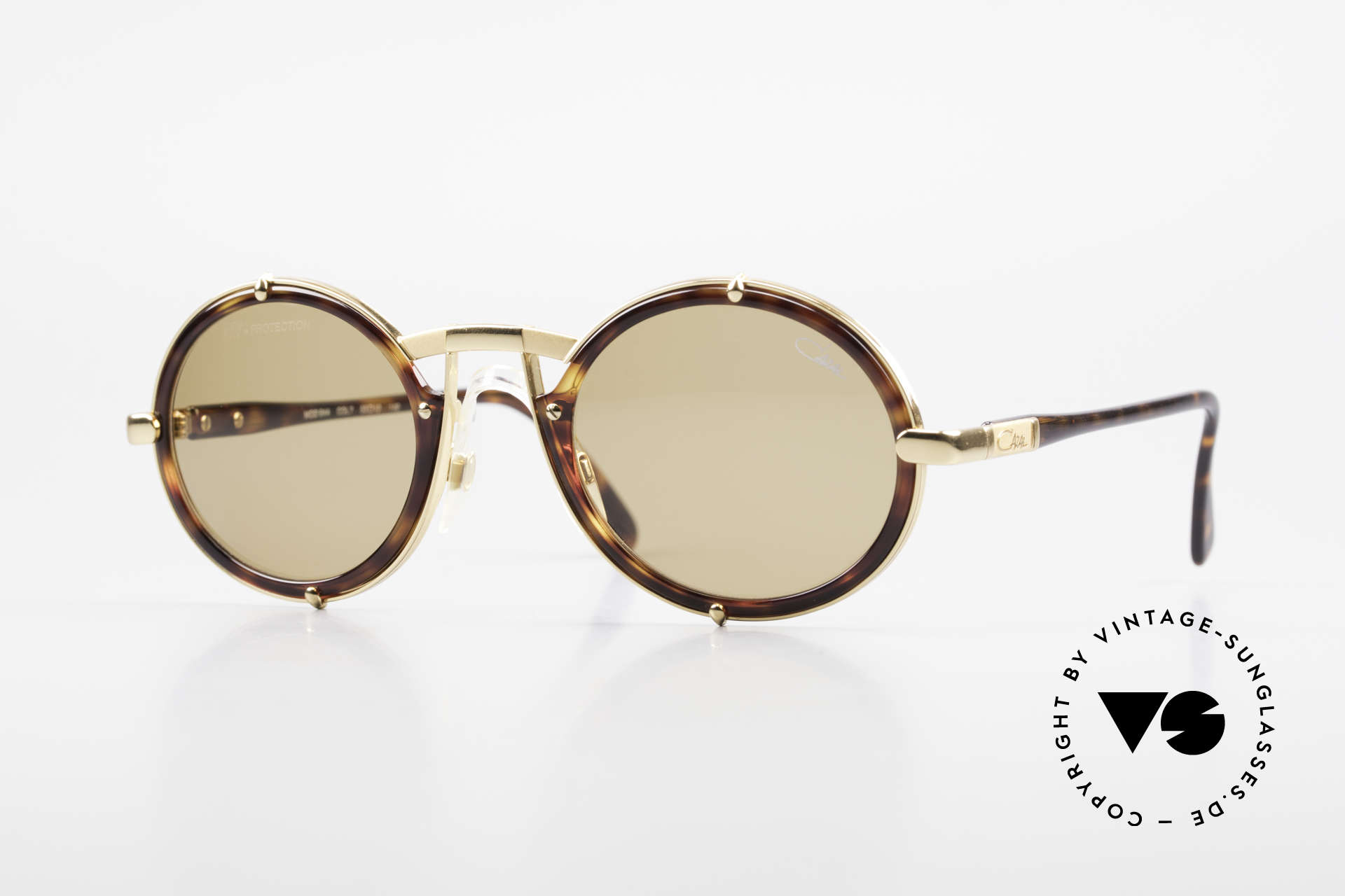 Cazal 644 Round Cazal 90's Sunglasses, vintage Cazal sunglasses from the early 1990's, Made for Men and Women