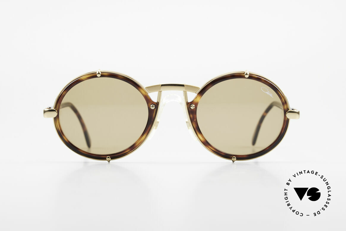 Cazal 644 Round Cazal 90's Sunglasses, finest quality from Passau, Bavaria (Germany), Made for Men and Women