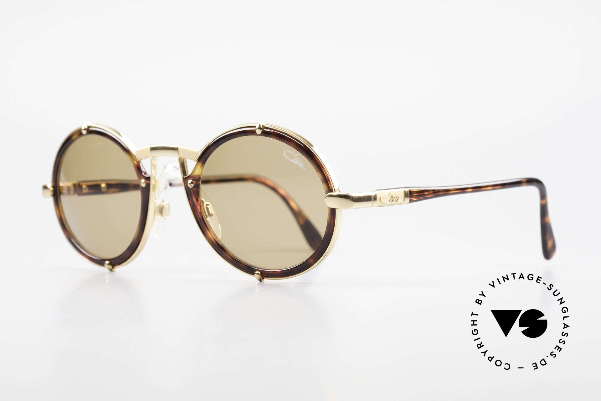 Cazal 644 Round Cazal 90's Sunglasses, NO retro sunglasses, but original from 1990/91, Made for Men and Women
