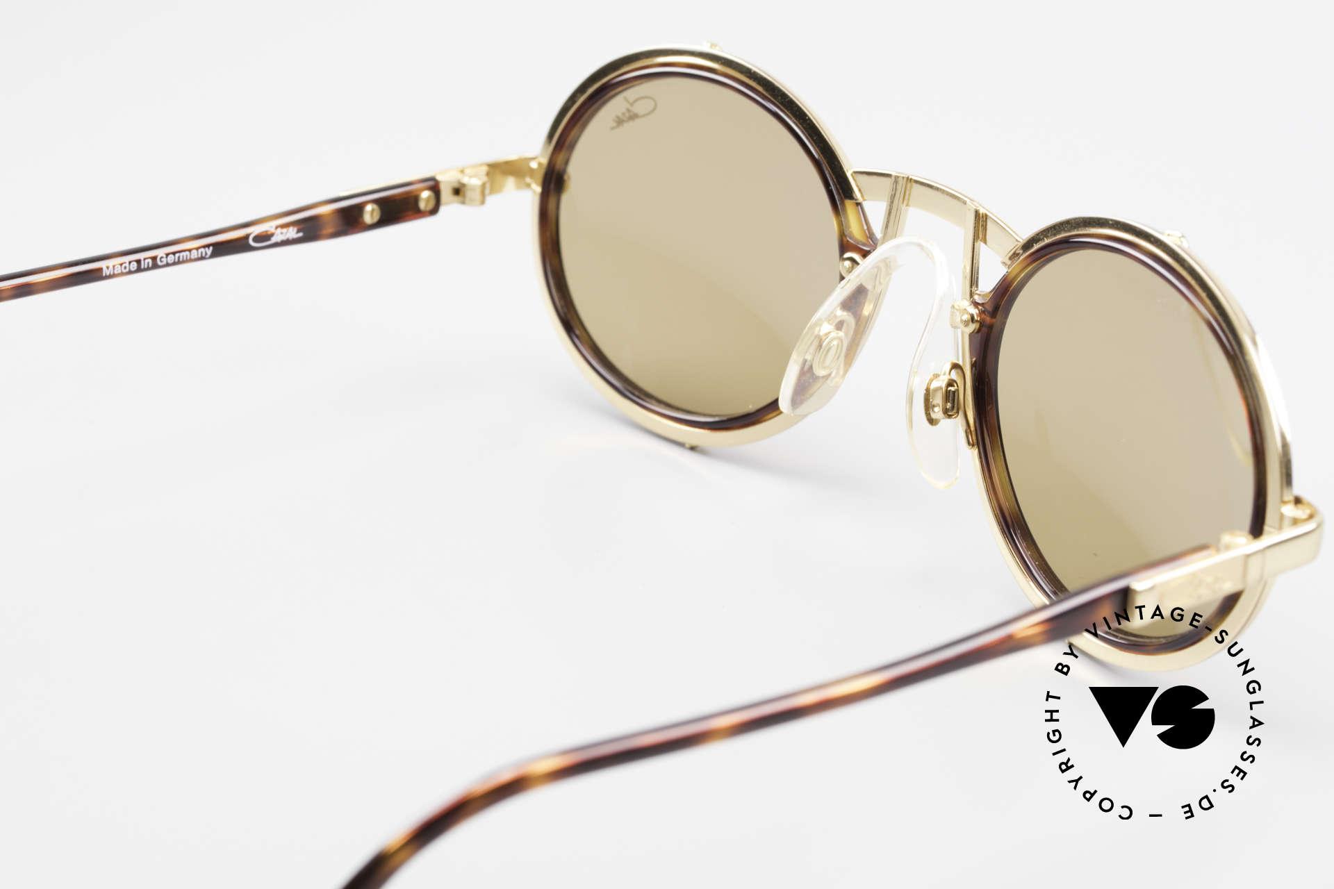 Cazal 644 Round Cazal 90's Sunglasses, Mr. Cari Zalloni (CaZal) wore this model in private, Made for Men and Women