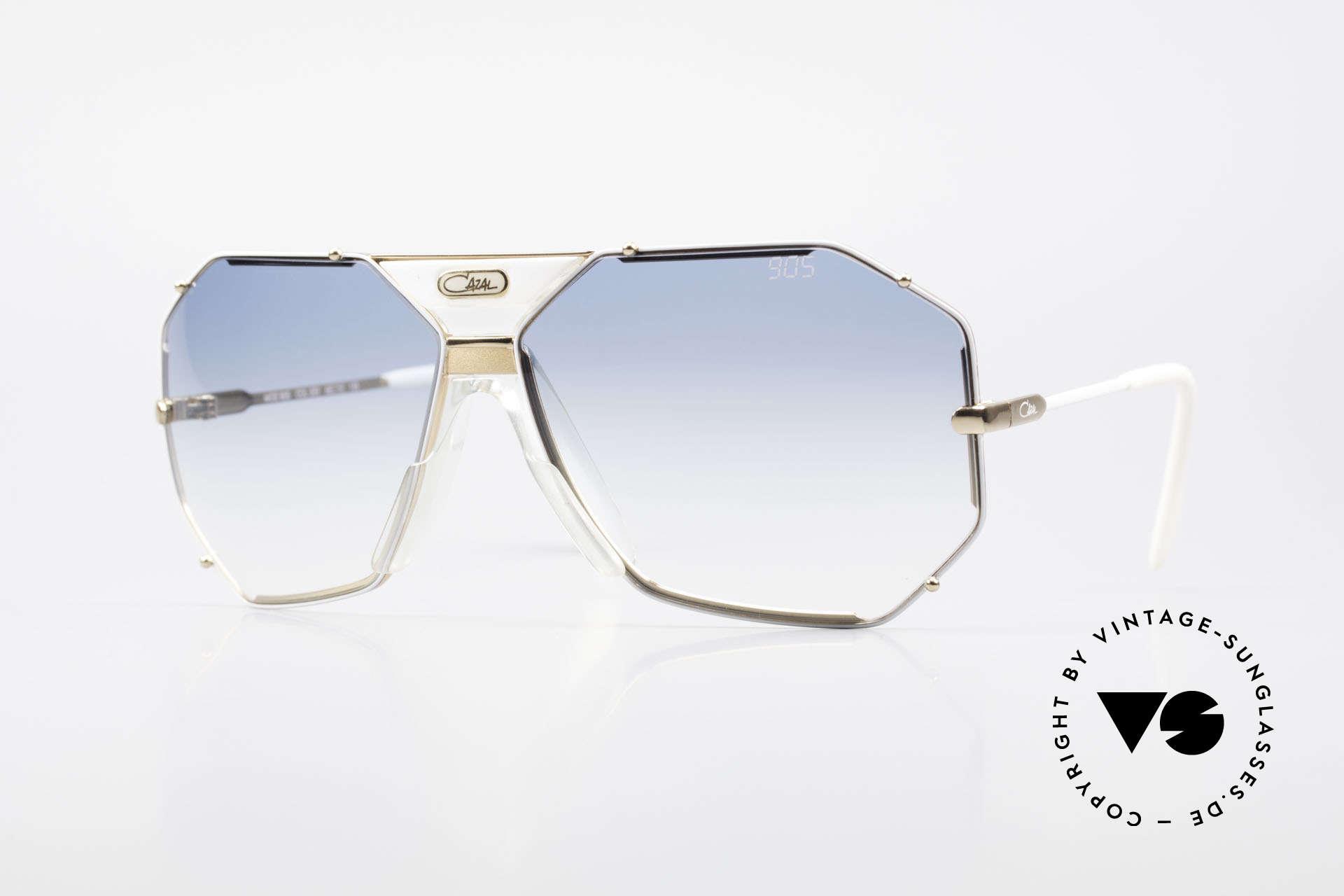Cazal 905 Gwen Stefani Vintage Shades, famous Cazal designer sunglasses from 1989/90, Made for Men and Women