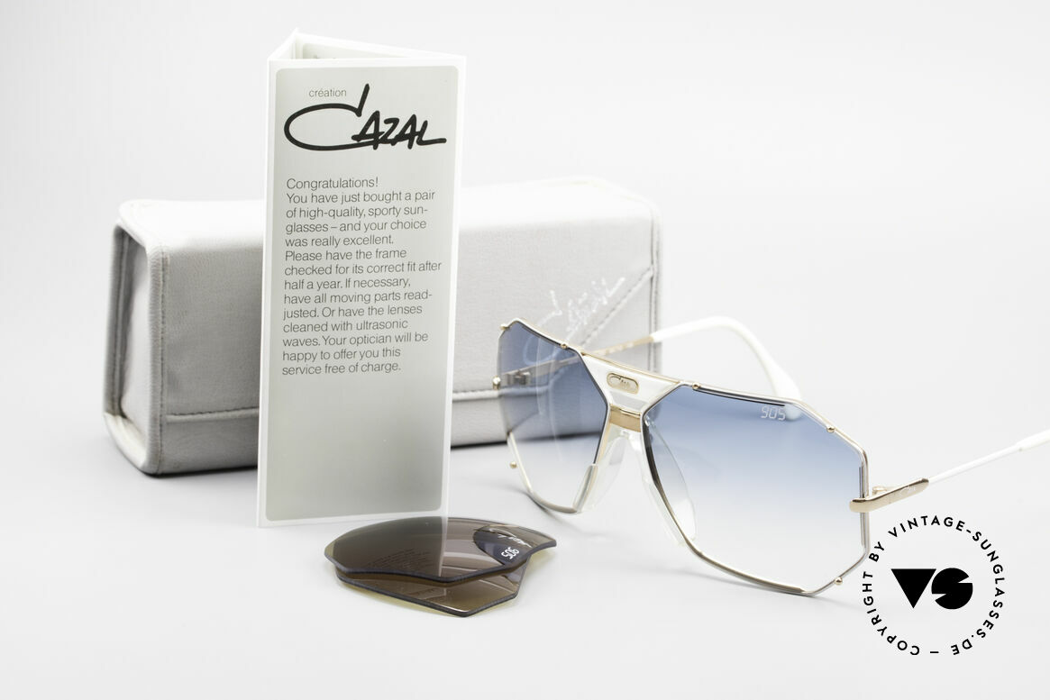Cazal 905 Gwen Stefani Vintage Shades, the rare old W.GERMANY ORIGINAL (no re-issue!), Made for Men and Women