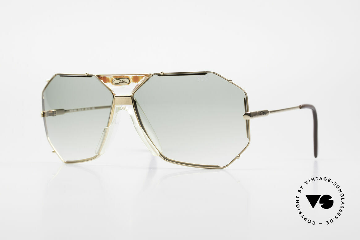Cazal 905 Gwen Stefani Sunglasses 80's, famous Cazal designer sunglasses from 1989/90, Made for Men