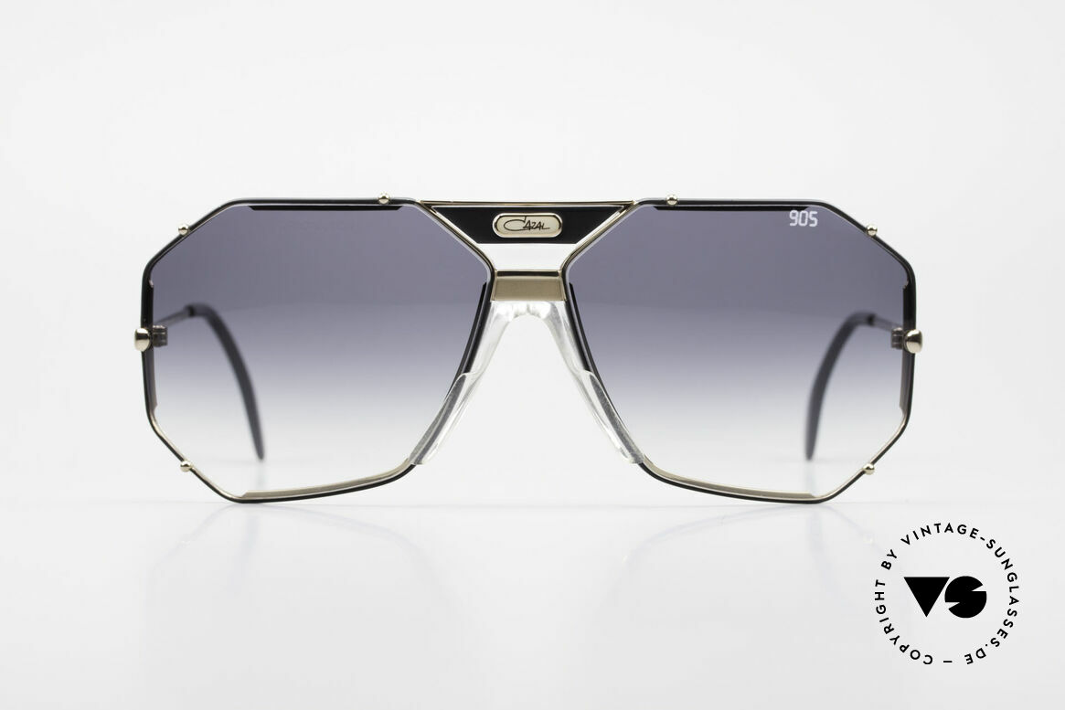 Cazal 905 Original 90's Cazal Model 905, elegant, angular design by Cari Zalloni (CAZAL), Made for Men