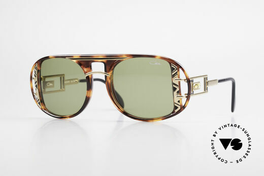 Cazal 875 90's Designer Sunglasses Details