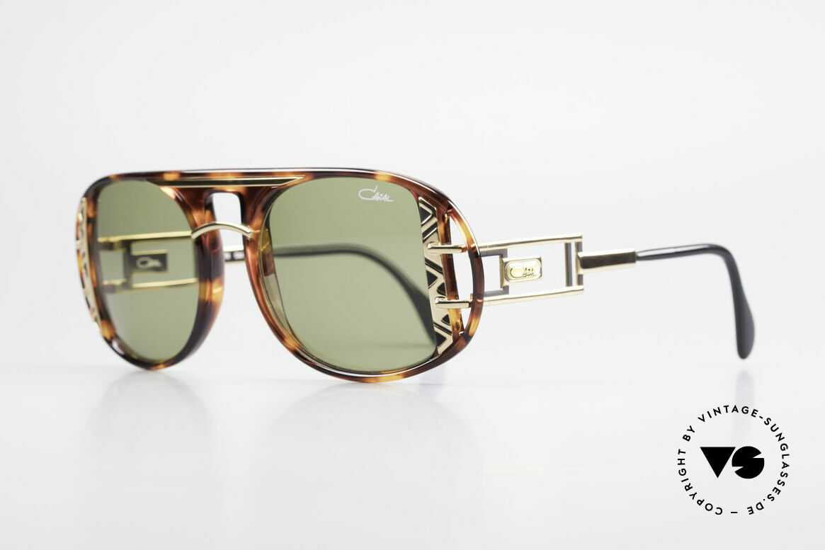 Cazal 875 90's Designer Sunglasses, unique quality & complex coloring - just vintage!, Made for Men and Women