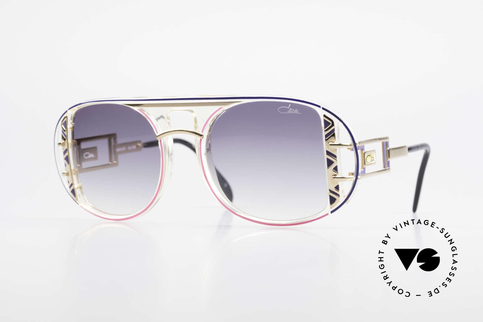 Cazal 875 Rare 90's Designer Sunglasses, made by design-guru CAri ZALloni (Mr. CAZAL), Made for Men and Women