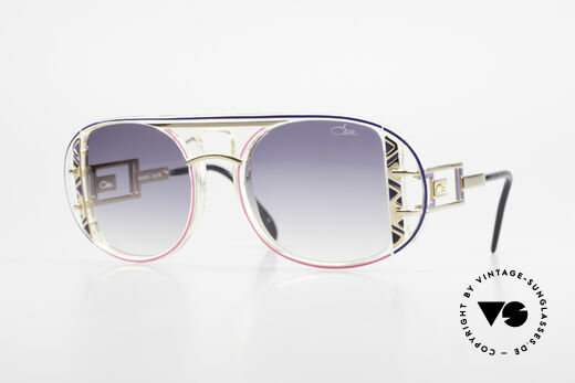 Cazal 875 Rare 90's Designer Sunglasses Details