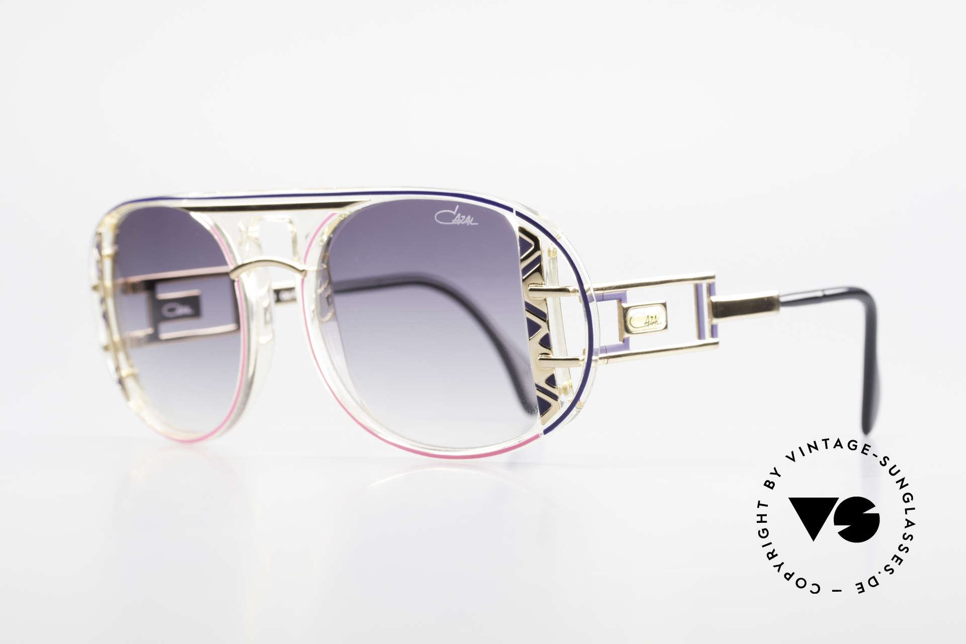 Cazal 875 Rare 90's Designer Sunglasses, unique quality & complex coloring - just vintage!, Made for Men and Women
