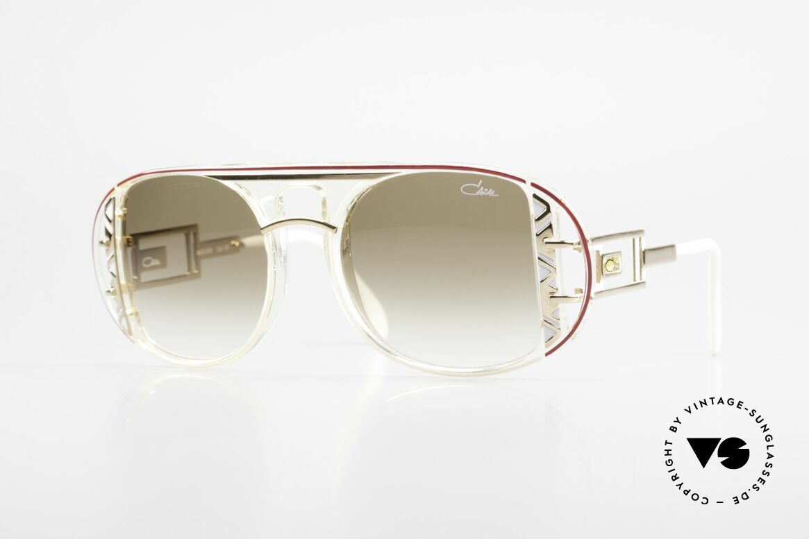 Cazal 875 Extraordinary 90's Sunglasses, spectacular Cazal designer shades from 1992/93, Made for Men and Women
