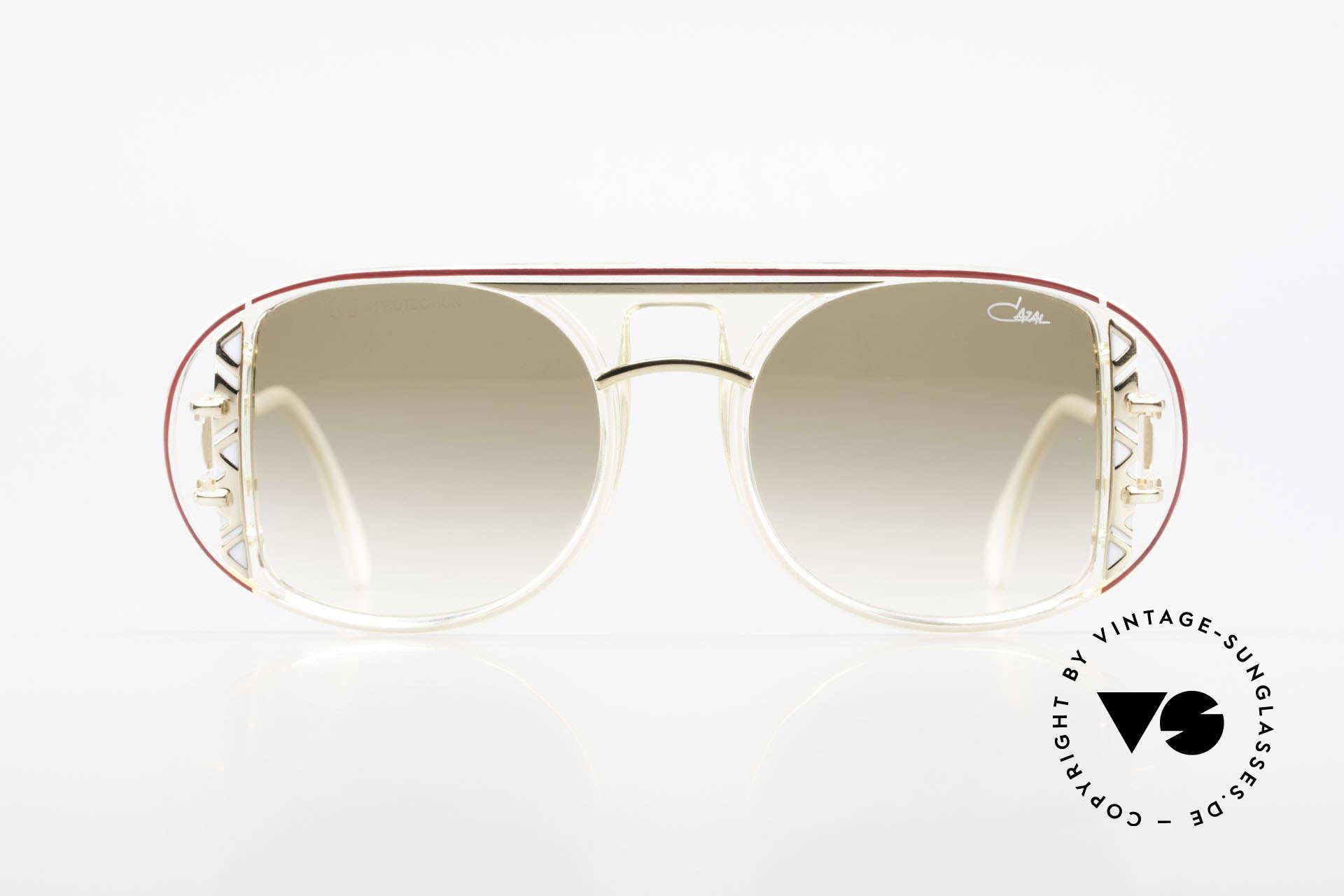 Cazal 875 Extraordinary 90's Sunglasses, made by design-guru CAri ZALloni (Mr. CAZAL), Made for Men and Women