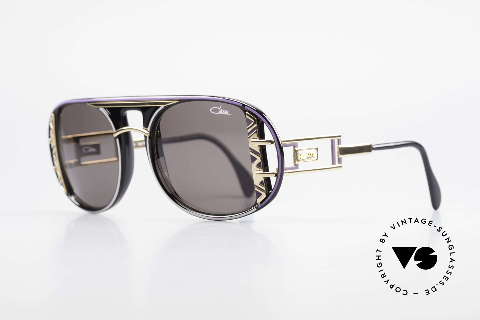 Cazal 875 Extraordinary Sunglasses 90's, unique quality & complex coloring - just vintage!, Made for Men and Women