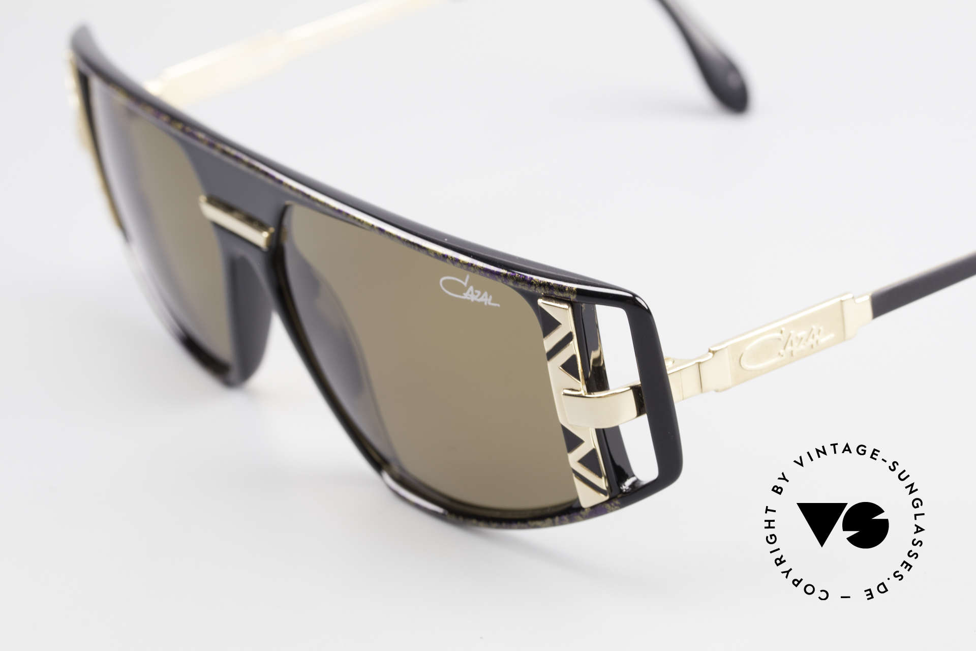 Cazal 874 Legendary 90's Sunglasses, worn by Lady Gaga (MTV interview; December 2009), Made for Men and Women