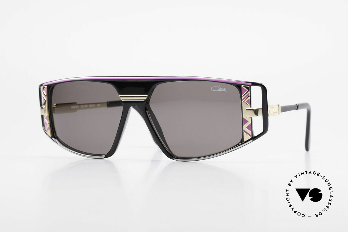Cazal 874 90's Shades Lady Gaga Style, vintage CAZAL designer sunglasses from 1993/1994, Made for Men and Women