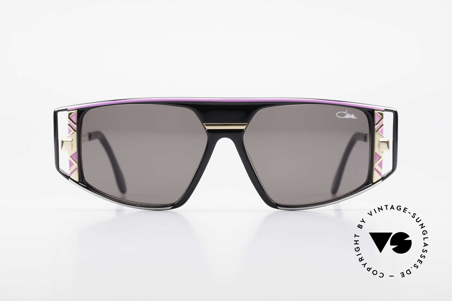 Cazal 874 90's Shades Lady Gaga Style, flashy & complex composition of colors & materials, Made for Men and Women