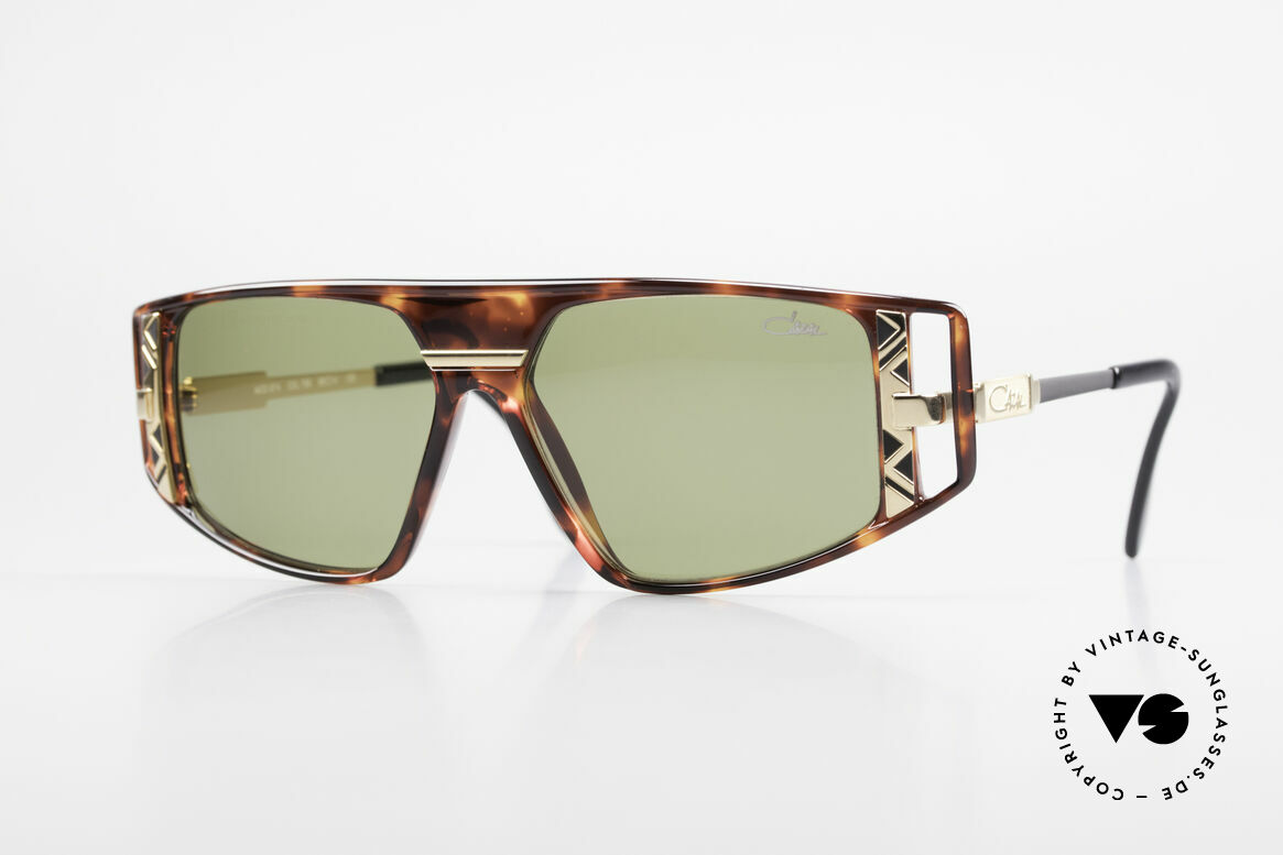 Cazal 874 90's Unisex Designer Shades, flashy & complex composition of colors & materials, Made for Men and Women