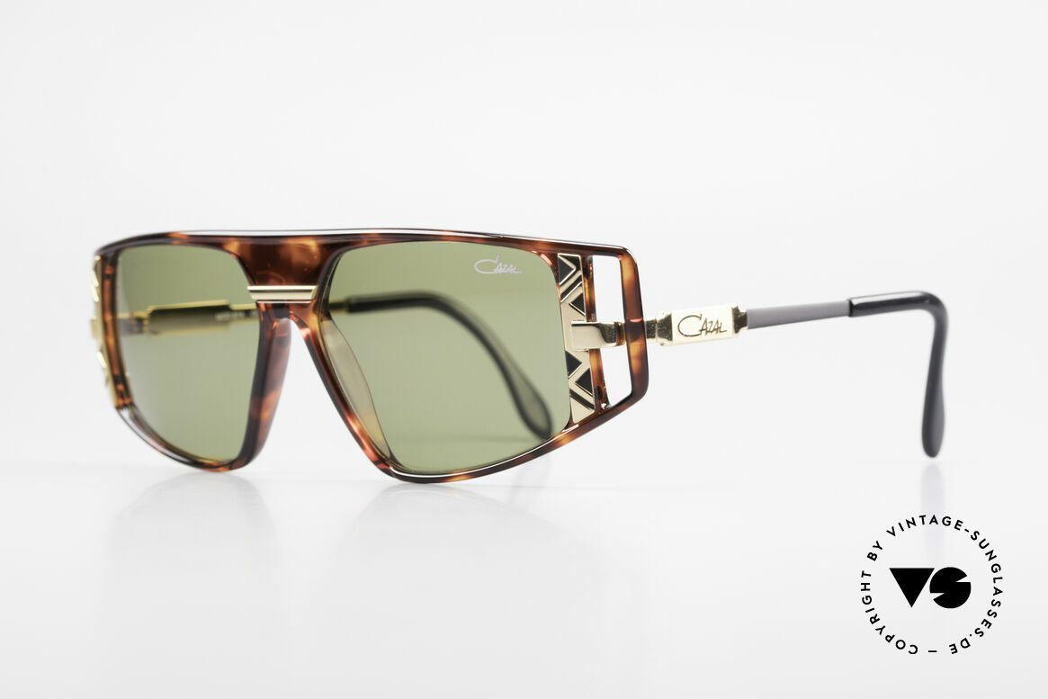 Cazal 874 90's Unisex Designer Shades, with many fancy design details (distinctive CAZAL), Made for Men and Women
