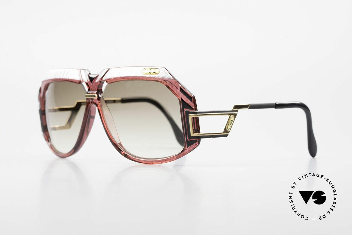 Cazal 870 Rare 80's Designer Sunglasses, a masterpiece by the great CAri ZALloni (Mr. Cazal), Made for Men and Women
