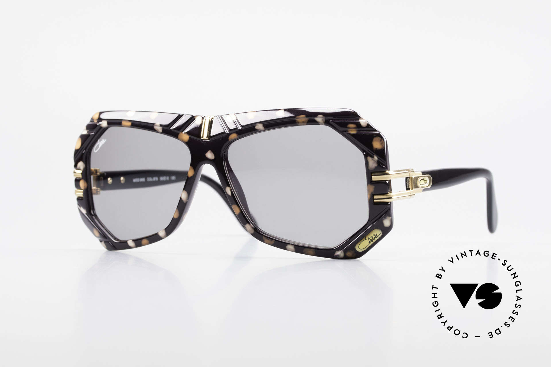 Cazal 868 West Germany Designer Shades, extraordinary designer sunglasses from 1989/90, Made for Men and Women