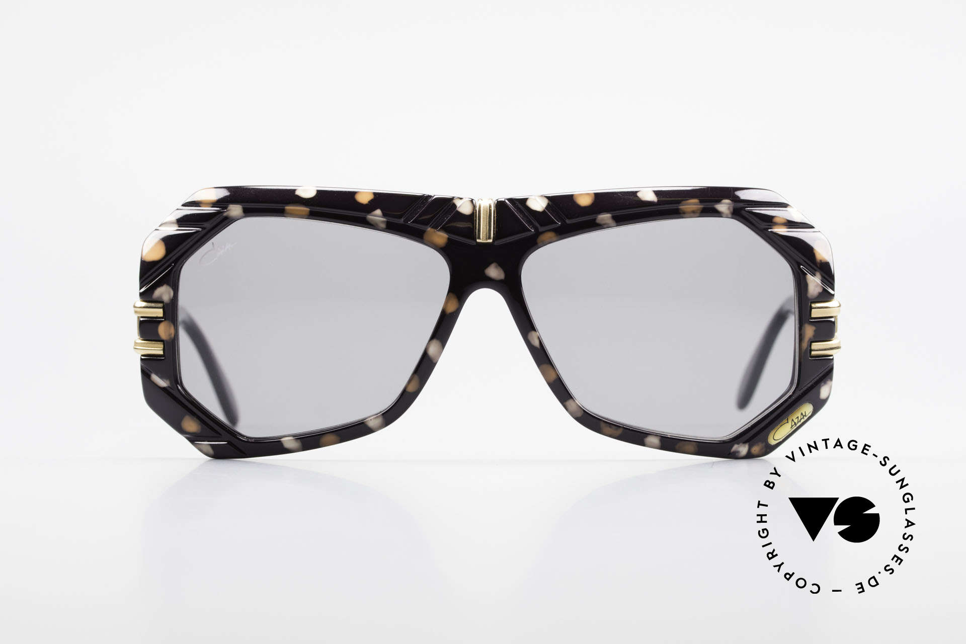 Cazal 868 West Germany Designer Shades, great combination of shapes, colors and materials, Made for Men and Women