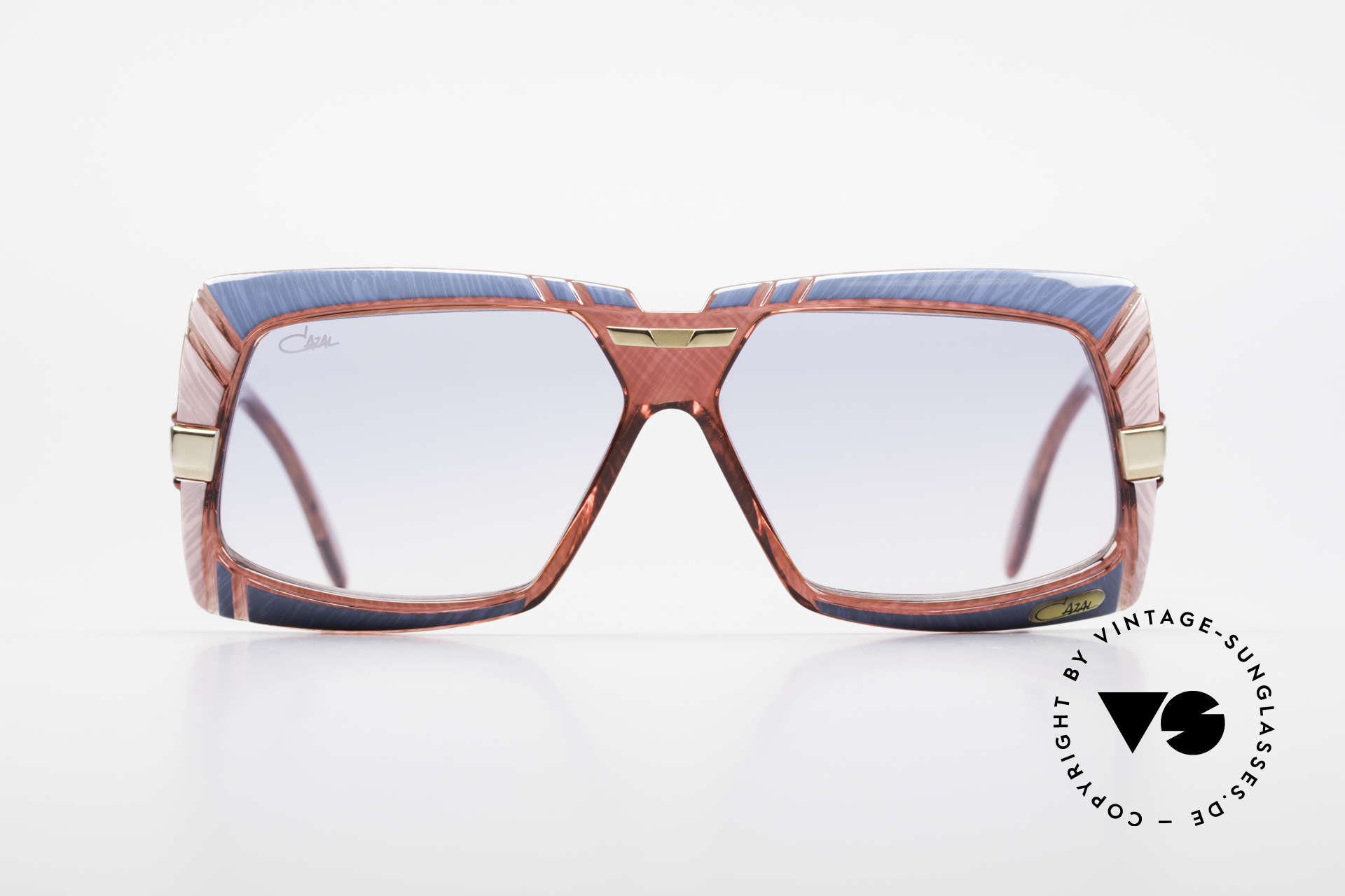 Cazal 869 80's Cazal Designer Shades, great combination of shapes, colors and materials, Made for Men and Women