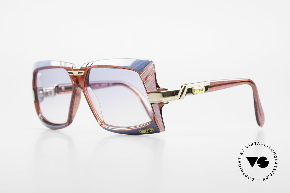 Cazal 869 80's Cazal Designer Shades, color 683: azure-blue + pink mottled / pink crystal, Made for Men and Women