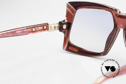 Cazal 869 80's 90's Cazal Designer Shades, NO RETRO shades, but a rare old original with case, Made for Men and Women