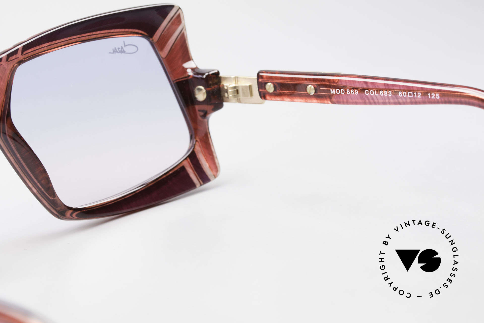 Cazal 869 80's 90's Cazal Designer Shades, Size: medium, Made for Men and Women