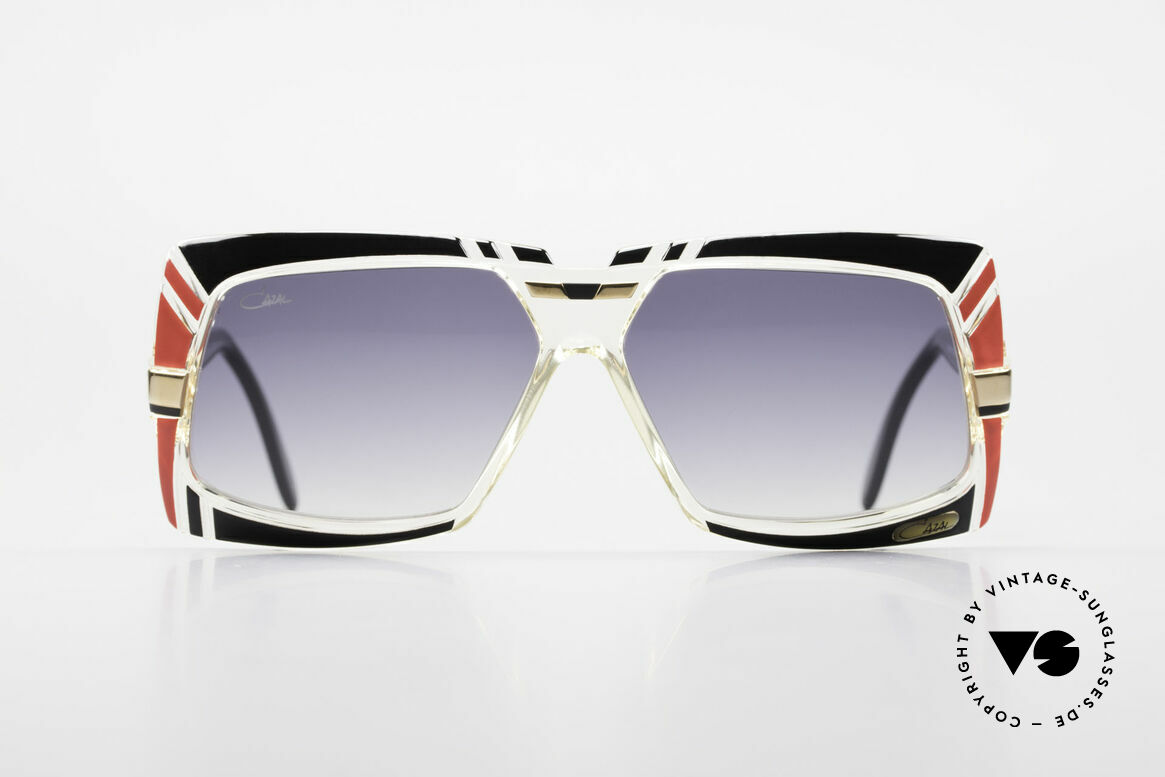Cazal 869 Old 80's West Germany Shades, great combination of shapes, colors and materials, Made for Men and Women