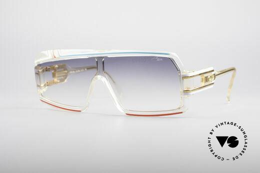 Cazal 858 Asymmetrical 80's Shades Details