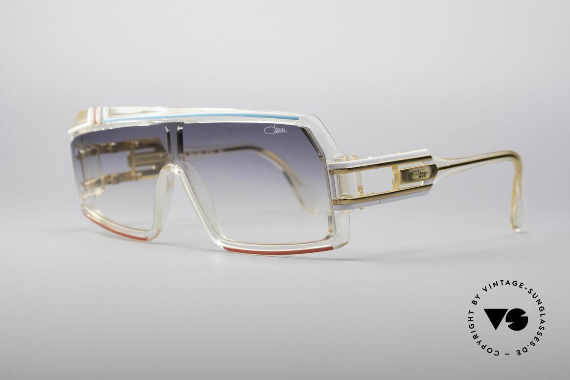 Cazal 858 Asymmetrical 80's Shades