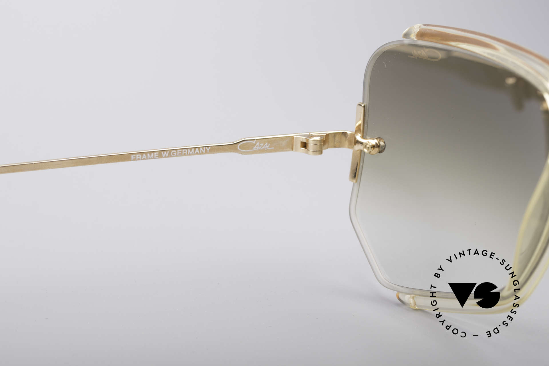 Cazal 850 Old School 80's Sunglasses, NO retro shades, but a rare 30 years old original!, Made for Men