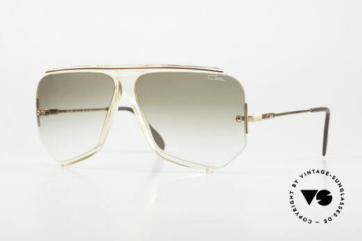 Cazal 850 Old School 80's Sunglasses Details