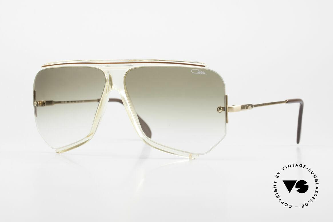 Cazal 850 Old School 80's Sunglasses, elegant original from app. 1986 - OLD SCHOOL!, Made for Men