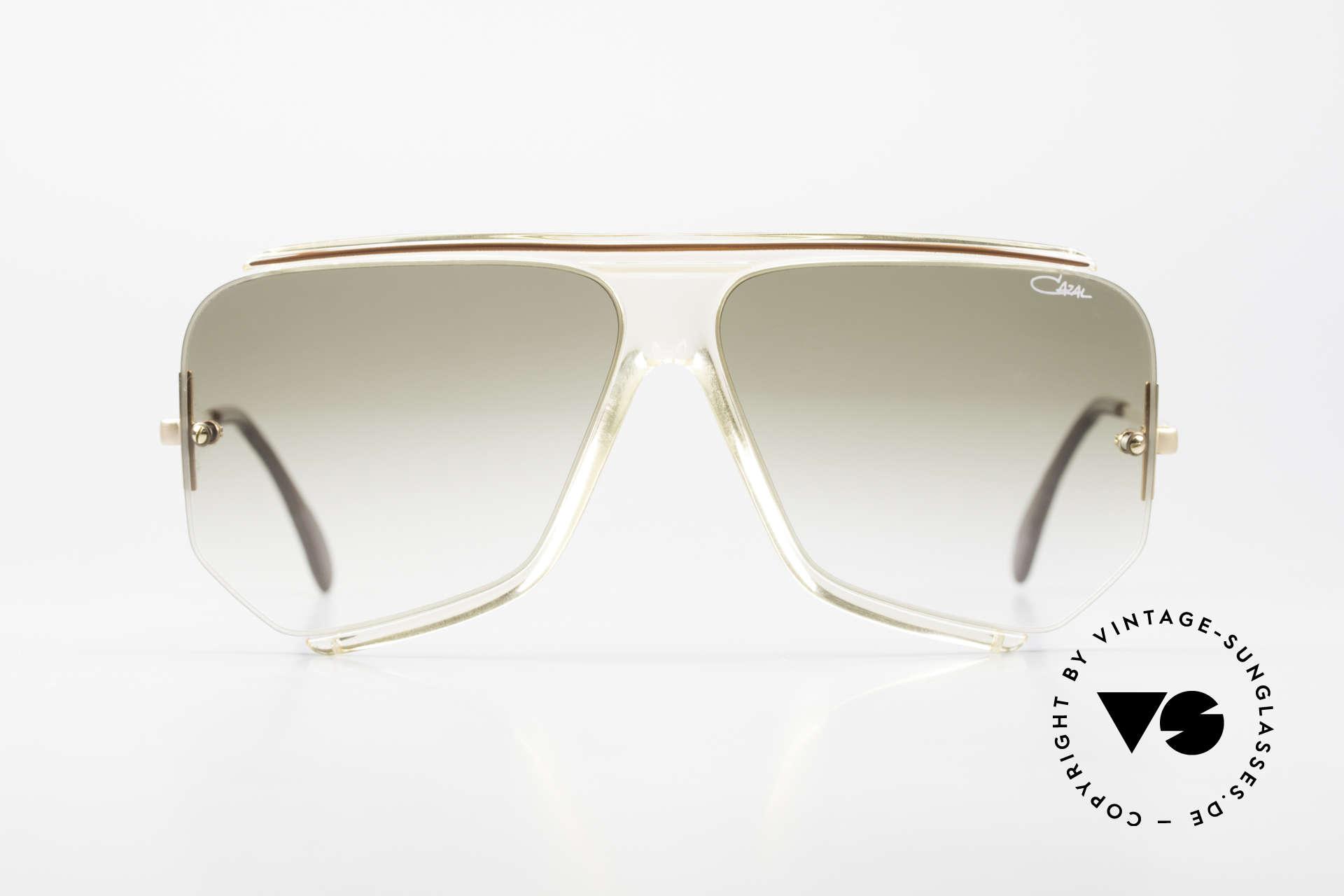 Cazal 850 Old School 80's Sunglasses, unique designer shades by CAri ZALloni (CAZAL), Made for Men