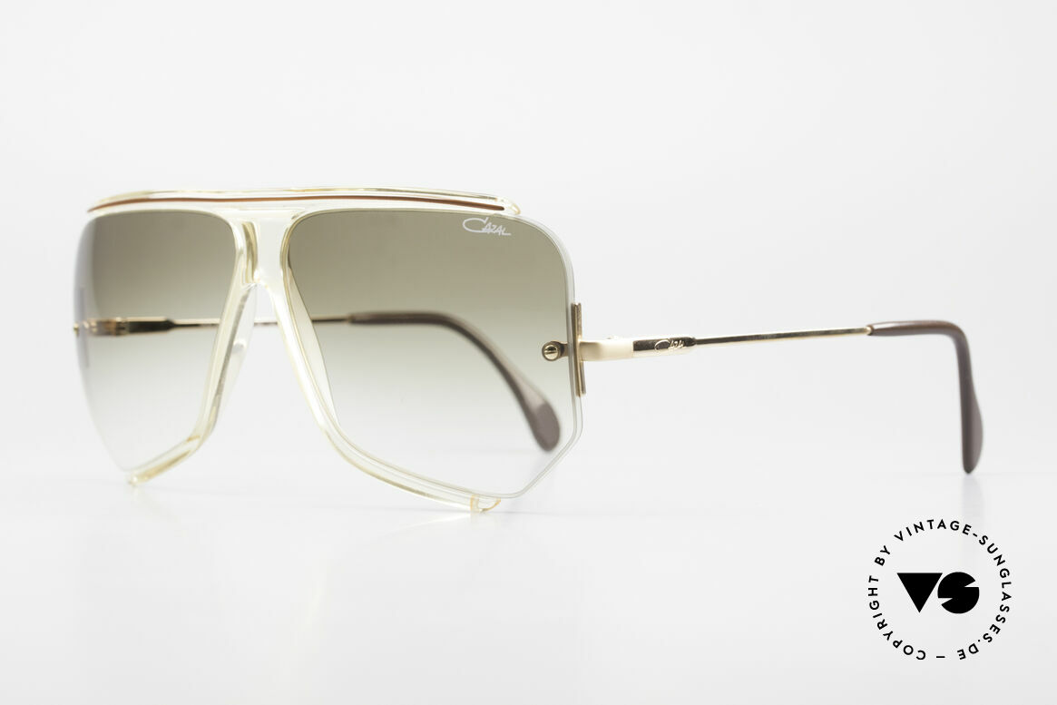Cazal 850 Old School 80's Sunglasses, most wanted vintage Cazal designer sunglasses, Made for Men