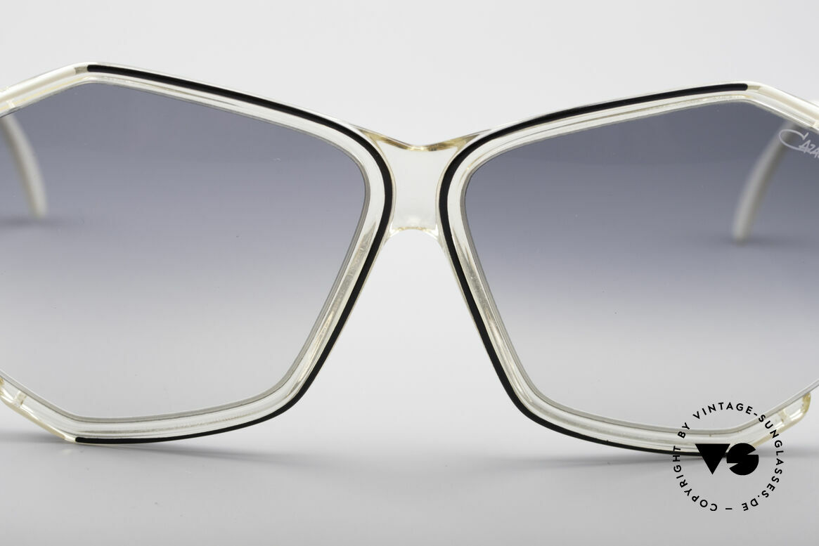 Cazal 852 Oversized 80's Sunglasses, NO RETRO fashion, but a unique original from 1986!, Made for Women