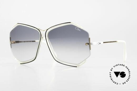 Cazal 852 Oversized 80's Shades Ladies Details