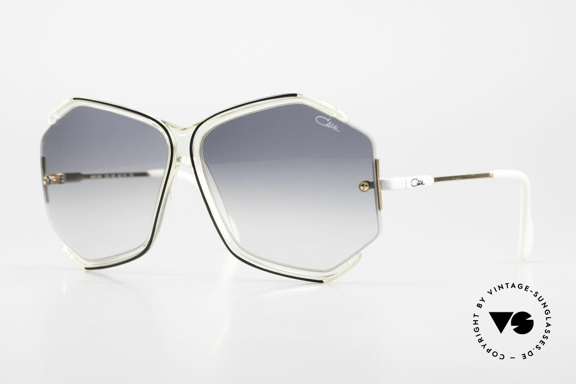 Cazal 852 Oversized 80's Shades Ladies, fancy Cazal 'oversized sunglasses ' from the eighties, Made for Women