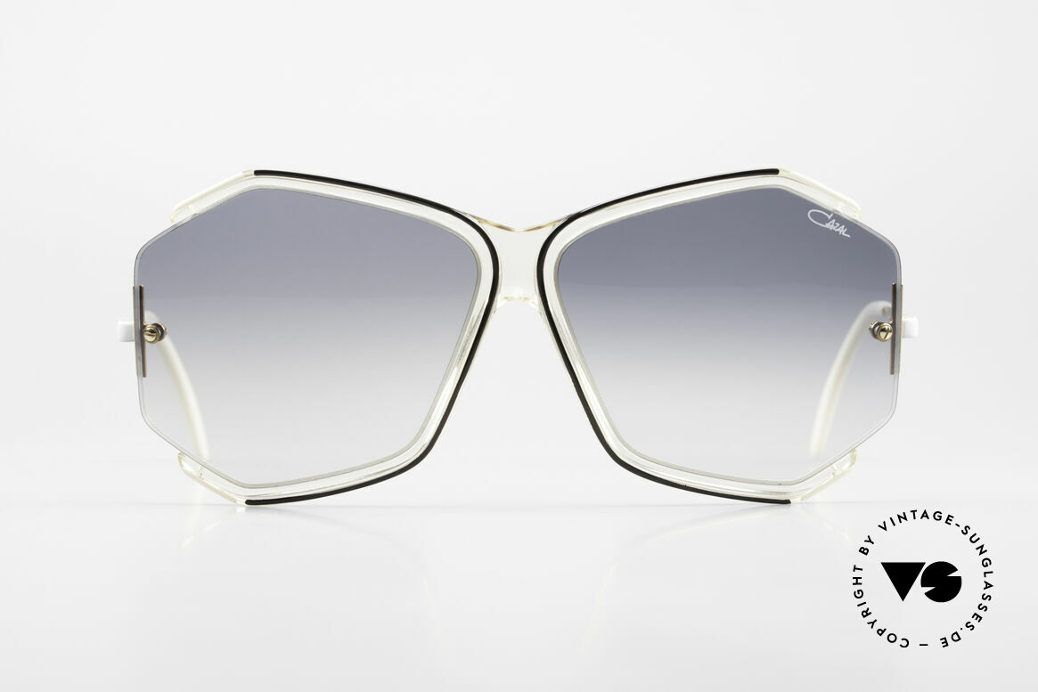 Cazal 852 Oversized 80's Shades Ladies, enchanting filigree frame design with classic colors, Made for Women