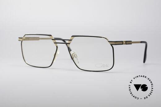 Cazal 760 Angled Vintage Men's Frame Details