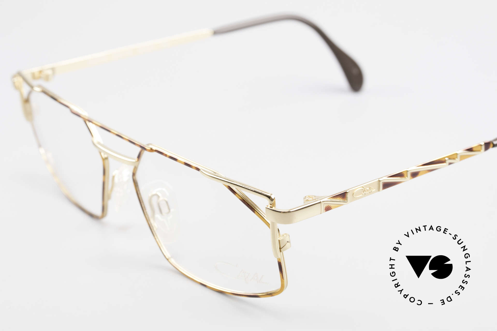 Cazal 751 90's Designer Eyeglasses, unworn, new old stock, in size 56-15 (MEDIUM size), Made for Men