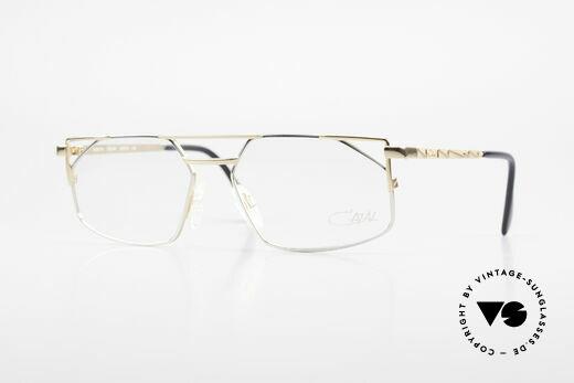 Cazal 751 Old 90's Designer Eyeglasses Details