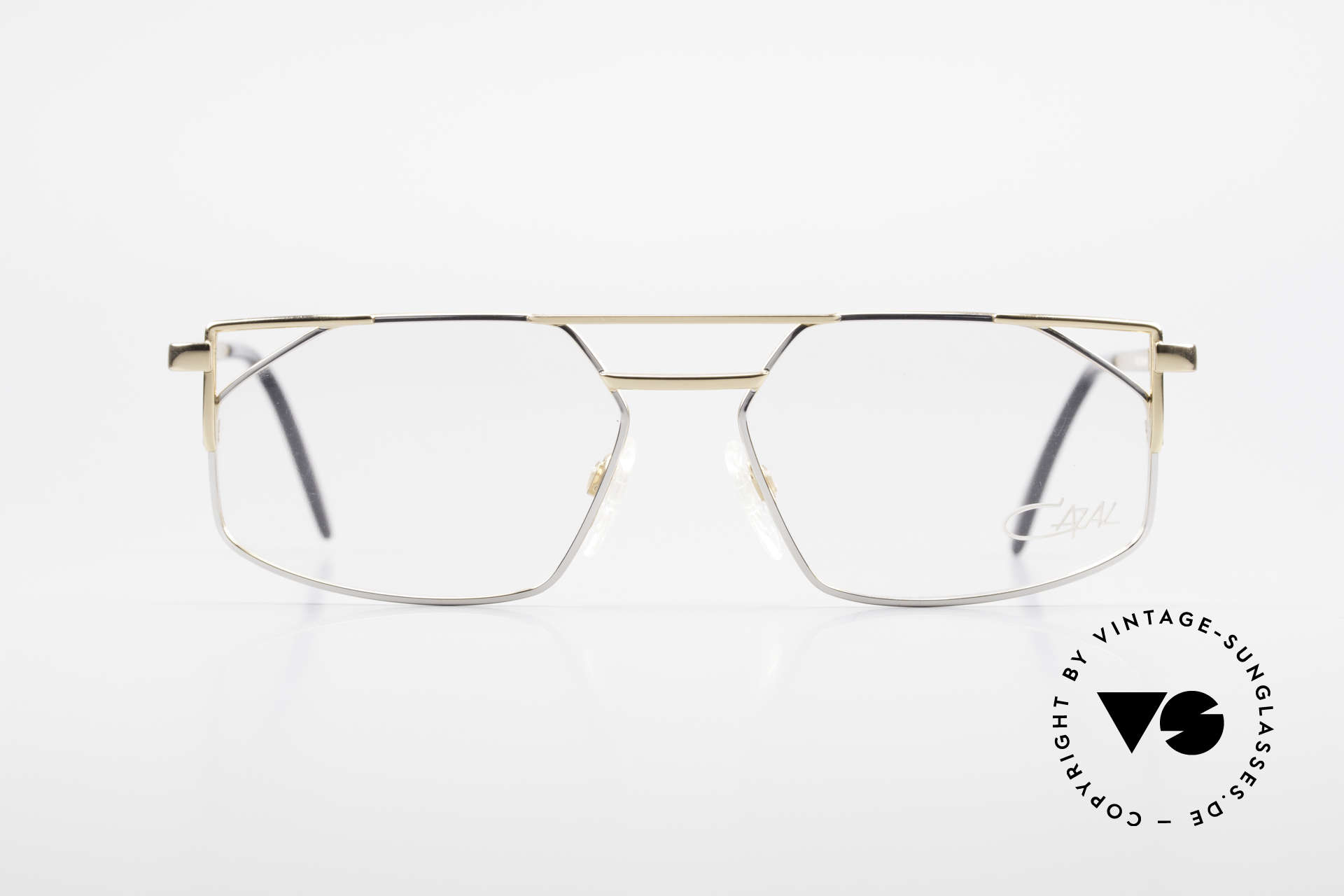 Cazal 751 Old 90's Designer Eyeglasses, top-notch eyeglass-frame by CAZAL from 1993/94, Made for Men