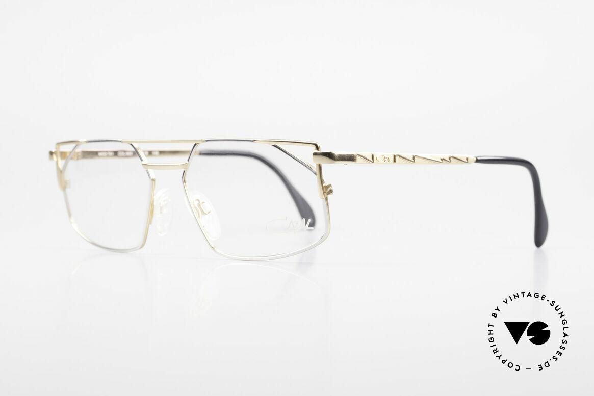 Cazal 751 Old 90's Designer Eyeglasses, tangible premium craftsmanship; made in Germany, Made for Men