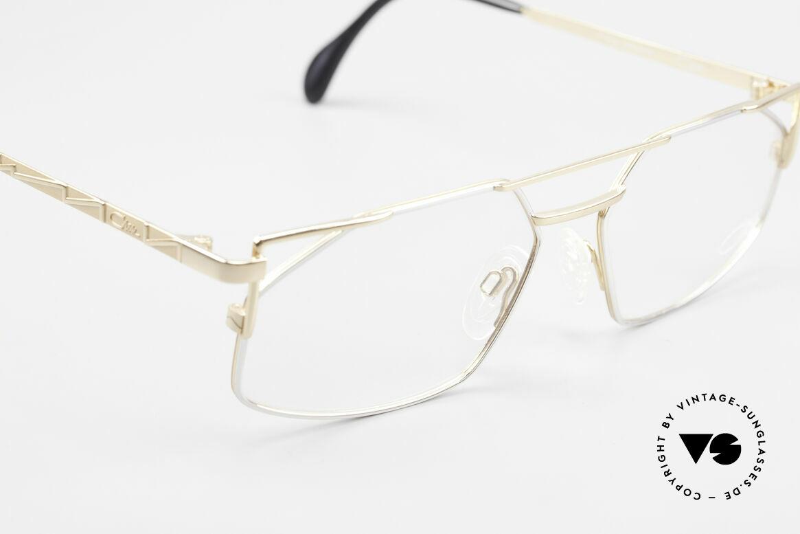 Cazal 751 Old 90's Designer Eyeglasses, unworn, new old stock, in size 58-16 (LARGE size), Made for Men